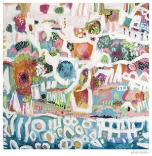 Abstract Marina I by Karen Fields