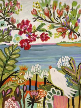 Birds in the Garden II by Karen Fields
