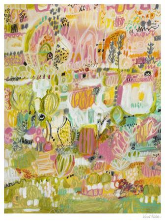 Boho Garden I by Karen Fields