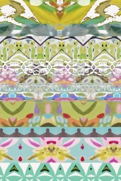 Border Boho I by Karen  Fields