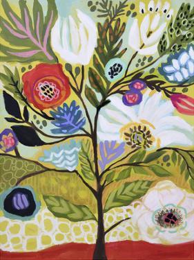 Flower Tree I by Karen  Fields