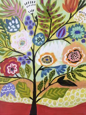 Flower Tree II by Karen  Fields