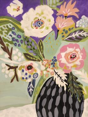 Fresh Flowers in Vase I by Karen Fields