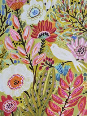 Garden Birds II by Karen  Fields