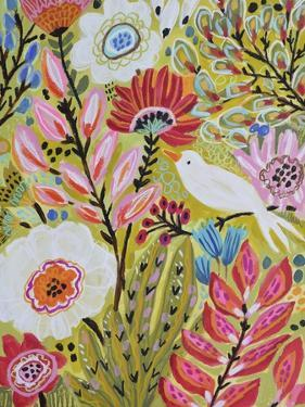 Garden Birds II by Karen Fields