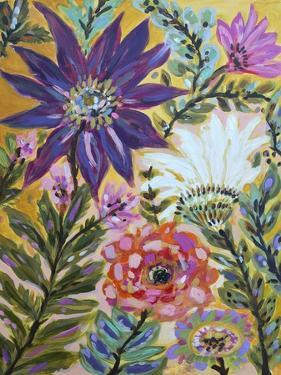 Garden Of Whimsy I by Karen  Fields