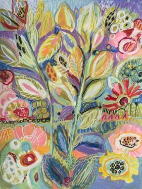 Garden Of Whimsy II by Karen  Fields