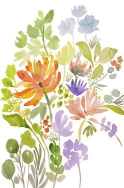 Happy Flowers III by Karen Fields