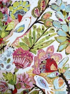 Paper Birds I by Karen  Fields