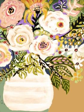 Summer Flowers in a Vase II by Karen Fields