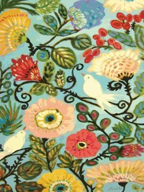 Sweet Cottage Garden by Karen Fields