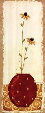 Polka Dot Flower Pot IV by Karen Good