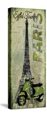 Eiffel Tower by Karen J^ Williams