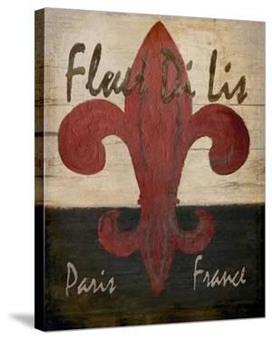 Fleur De Lis by Karen J^ Williams