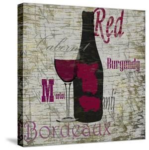 Red Wine by Karen J^ Williams
