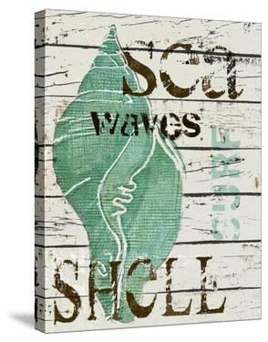 Sea Shell Green by Karen J^ Williams