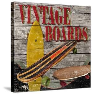 Vintage Skate Boards by Karen J^ Williams