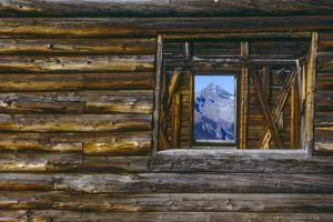 A Log Cabin in Telluride, Colorado by Karen Kasmauski