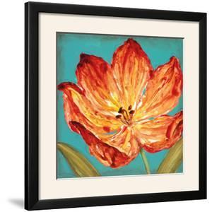 Flame Tulip II by Karen Leibrick