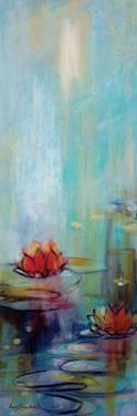Aqua Lotus I by Karen Lorena Parker