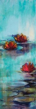 Aqua Lotus II by Karen Lorena Parker