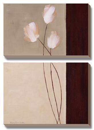 Floral Whispers I by Karen Lorena Parker