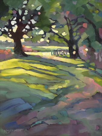 Afternoon Walk by Karen Mathison Schmidt