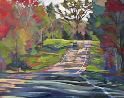 Country Highway by Karen Mathison Schmidt