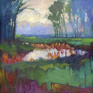 Mist Slowly Rising by Karen Mathison Schmidt
