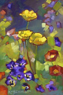 Poppies and Pansies by Karen Mathison Schmidt