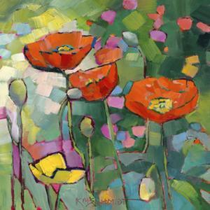 Poppies Galore by Karen Mathison Schmidt