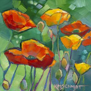 Poppy Dance by Karen Mathison Schmidt