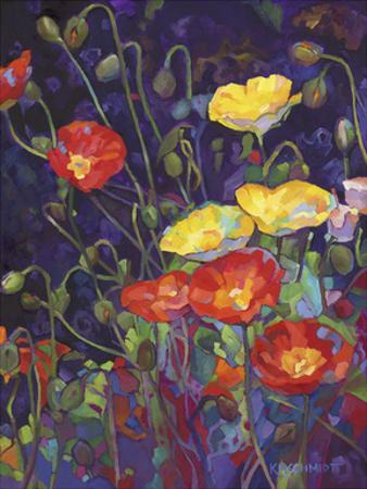 Wild Bunch II: Poppies by Karen Mathison Schmidt