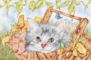Lily Basket by Karen Middleton