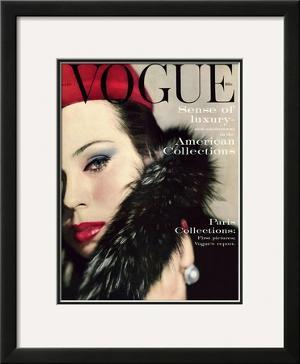 Vogue Cover - September 1959 by Karen Radkai