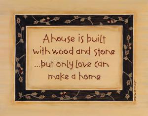 A House Is Built by Karen Tribett