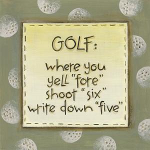 Golf by Karen Tribett