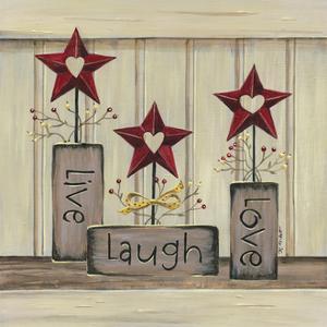 Live, Laugh, Love by Karen Tribett