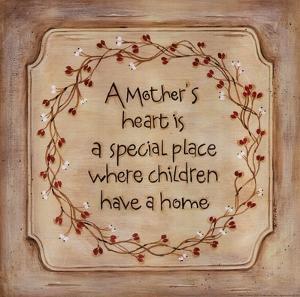 Mother's Heart by Karen Tribett