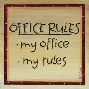 Office Rules by Karen Tribett