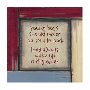 Young Boys by Karen Tribett