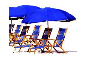 Beach Chairs II by Karen Williams