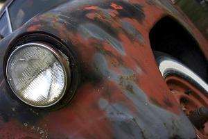 Chevy Headlight by Karen Williams