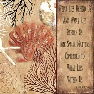 Emerson quote by Karen Williams