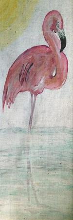 Pink Flamingo Tall
