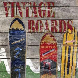 Vintage boards I by Karen Williams