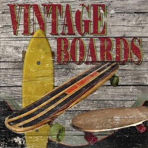 Vintage Boards II by Karen Williams