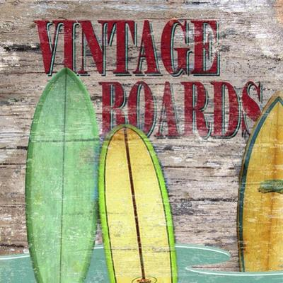 Vintage Boards III by Karen Williams