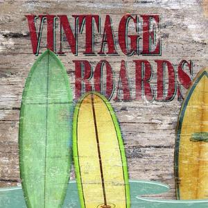 Vintage Boards III by Karen Williams
