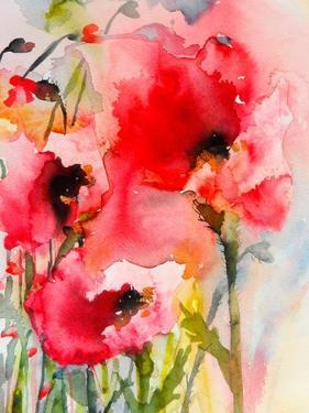 Summer Poppies by Karin Johannesson